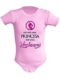 Body bebé unisex No soy una princesa, soy una Khaleesi (Juego de tronos -
