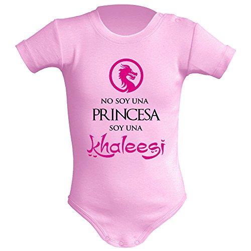 Body bebé unisex No soy una princesa, soy una Khaleesi (Juego de tron