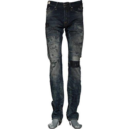 Replay Herren Jeans Slim Leg WAITOM, Farbe: Dunkelblau Blau