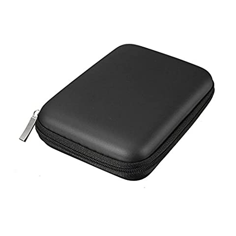 Hrph Hand Carry Case Cover Pouch for 2.5 inch Power Bank USB External HDD Hard Disk Drive Protect Protector Bag