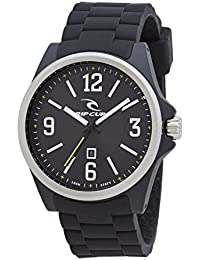 Rip Curl 2017 Covert Watch with Silicone Strap BLACK A2874