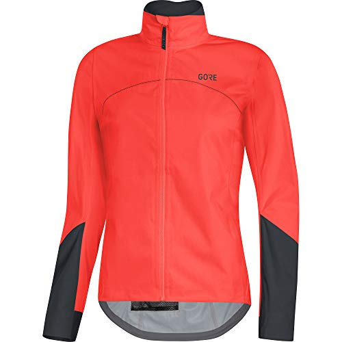 GORE WEAR Damen C5 Tex Active Jacke, lumi orange/Black, 38