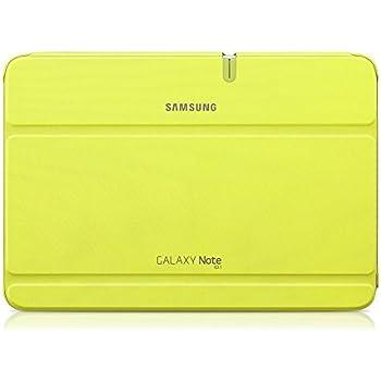 Samsung Original Diarytasche (Flipcover) im Buchdesign EFC-1G2NMECSTD (kompatibel mit Galaxy Note 10.1 -Nicht mit 2014 Edition) in mint