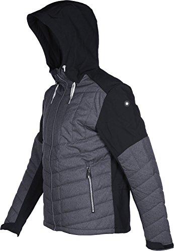 Icepeak Carter Men 57951 schwarz grau meliert