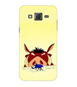 Doyen Creations Designer Printed High Quality Premium case Back Cover For Samsung Galaxy J1