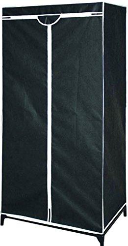 Hoffmanns Falt-Kleiderschrank Textilkleiderschrank 70 x 45 x 160 cm (BxTxH) - Stoffschrank /...