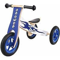Ooowee Wooden Trike which converts to a balance bike!