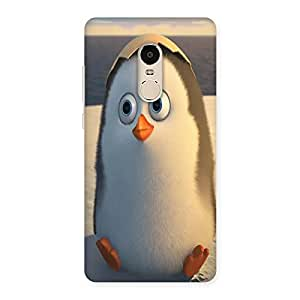 NEO WORLD Premium Penguin Back Case Cover for Xiaomi Redmi Note 4