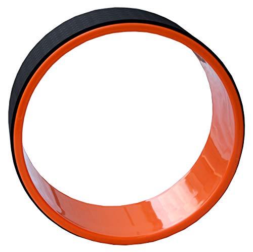 Lisaro Yoga Wheel | Yoga Trainings-Rad zum Dehnen – Ideal für Dehnübungen, Gleichgewicht, Rückbeugen oder Flexibilität!