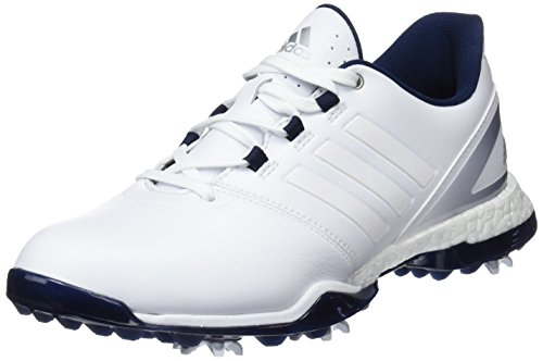 adidas W Adipower Boost 3 Scarpe da Golf Donna, Bianco (White F33635) 36 2/3 EU