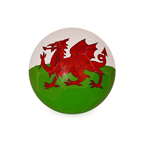 Wales RGW Size 5 Stitched Panel Football  wr81