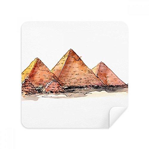 DIYthinker Ägypten Pyramide von Gaza-Glas-Putztuch Telefon Screen Cleaner Suede Fabric 2ST