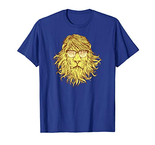 Kinder Custom Made T-shirt (Men's & Women's Lions Are Smarter Than I Am T-Shirt)