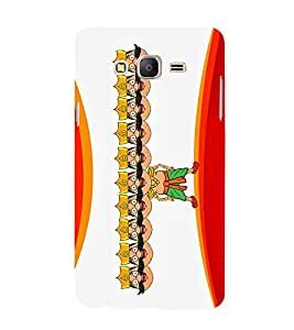 Lord Ravan 3D Hard Polycarbonate Designer Back Case Cover for Samsung Galaxy On5 Pro :: Samsung Galaxy ON 5 Pro