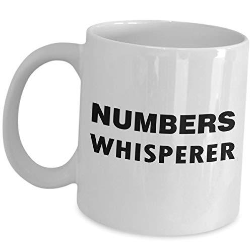 Mathematiker Gag Gifts Mathematiker Professor Lehrer Kaffeetasse Mathematiker Liebhaber Geek Nerd Tasse - Lustiges süßes Geschenk Award Spruch Ideen - Zahlen Whisperer