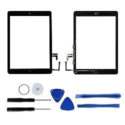 Ersatz-Digitizer (Digitalisierer) für iPad Air 1 A1474/A1475 mit Werkzeug und Kleber