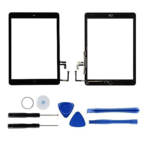Dazone für iPad 5 Digitizer Touchscreen Ersatzteile Glas Display Bildschirm