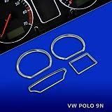 untr10p9N–Chromé tachoringe Convient pour VW Polo 9N tous les série,