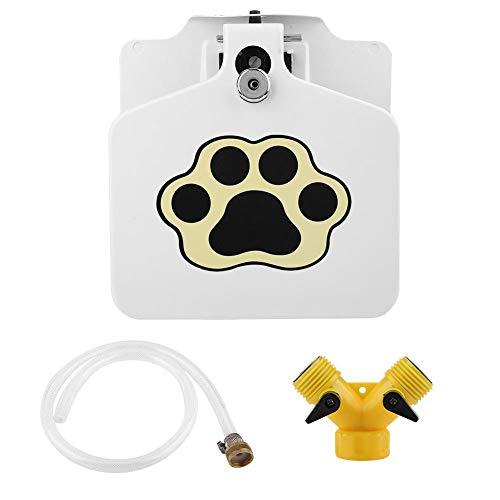 Socialme-EU Fuente de Agua Bebedero Automático Perrito Mascota Dispensador de Agua Portable al Aire Libre Suministros de Manguera