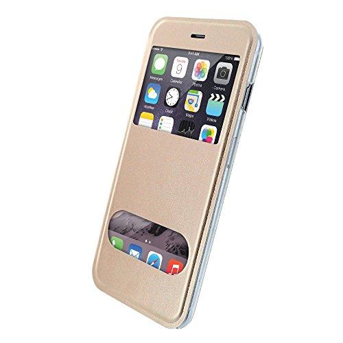 Ultraflache weiche Schutzhülle APPLE IPHONE 6 PLUS 5.5 POUCES [Le X Premium] [Rot] von MUZZANO + STIFT und MICROFASERTUCH MUZZANO® GRATIS - Das ULTIMATIVE, ELEGANTE UND LANGLEBIGE Schutz-Case für Ihr  Gelb