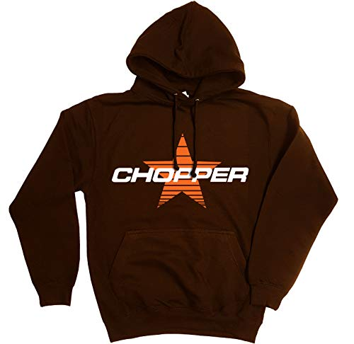 Qulaity 'Chopper' Unisex Hoodie with twin needle stitching - S to XXL