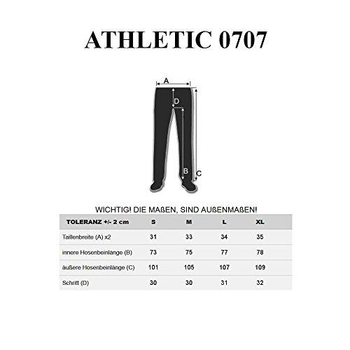 BOLF – Pantalons de sport – Training pantalons – Casual – Baggy – Cargo – Motif – Homme [6F6] Vert