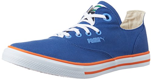 ea79cda7f7bfe2 Puma 36078405 Unisex Limnos Cat 3 Dp Limoges Marina Blue And Orange Canvas  Sneakers 4 Uk- Price in India