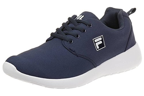 Fila Alva Low Run Men Running Trainers Sneakers Fitness Blue