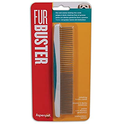 Aspen pet Fur Buster Rotating Tooth Comb by Doskocil Mfg