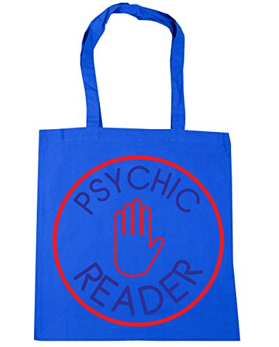 hippowarehouse Psychic Reader Tote Shopping Gym Beach Bag 42 cm 38 38, 10 Liter, Kornblume (Blau), One size (- Krebs-tote Bag)