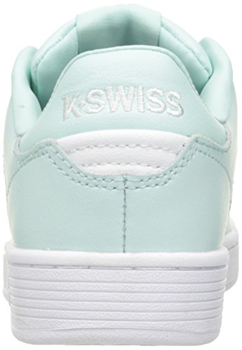 K-Swiss Clean Court Cmf, Scarpe Basse da Ginnastica Donna Nero (Fair Aqua/white)