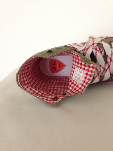 by johanna Trachten-Sneaker Trachten-Schuhe Trendige Herren-Schuhe Canvas.Wer Keine Haferl-Schuhe Liebt!Fürs Oktoberfest,Freizeit,Wander-Schuhe,Laufschuhe!Mann ist Perfekt .Braun Trachten Sticker45 - 6