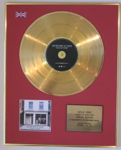 MUMFORD SONS Ltd Edtn &, modello CD Gold, Disc-SIGH NO MORE
