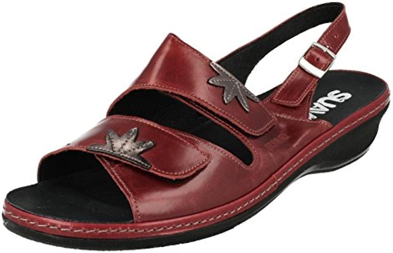 Suave, piatta-Sandali da donna, stile Casual, Comfort Hannah, Coloreeee    rosso | Alta qualità e basso sforzo  | Sig/Sig Ra Scarpa  c7a741