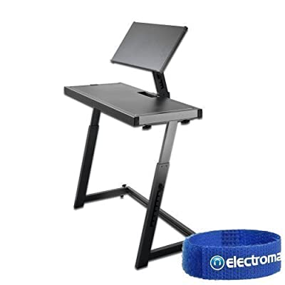 Ekho Black Mobile DJ Deck Mixer Controller Laptop Equipment Stand