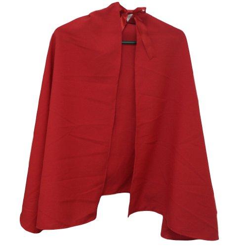 Rot Super Hero Kind Umhang Teenager Kleine Erwachsene 127cm (Erwachsene Kostüm Uk Frodo)