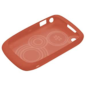 BlackBerry Silikonhülle (Skin) für BlackBerry Curve 9300 / 8520, orange