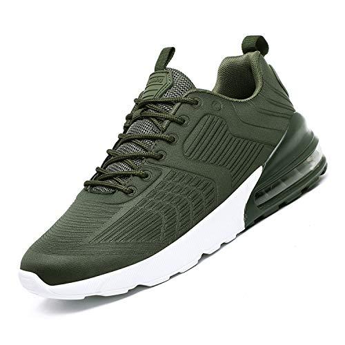 12e6aa45b51e Men Women Running Shoes Air Cushion Sports Trainers Shock Absorbing Sneakers  for Walking Gym Jogging Fitness