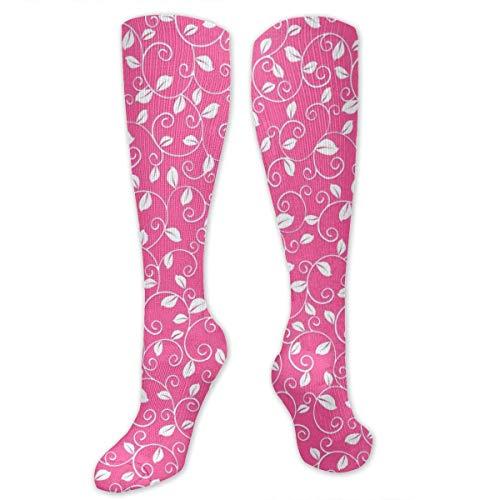 lyester Baumwolle über Knie Bein hohe Socken niedlich Unisex Oberschenkel Strümpfe Cosplay Boot Lange Tube Socken ()