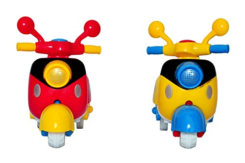 Sunshine Scooter Unbreakable Car Toy Set ( Set of 2)