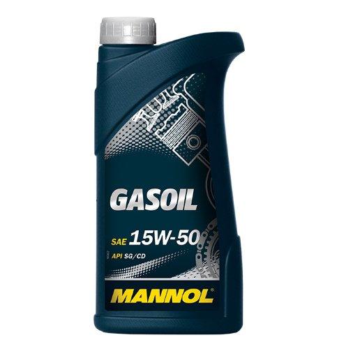 MANNOL Gasoil 15W-50 API SG/CD Motorenöl, 1 Liter