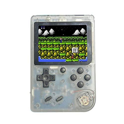 Teepao Retro-Spielekonsole 3-Zoll-Handspielkonsole mit Eingebauten 168 Spielen, Klassischer Spielespieler USB-Ladegerät, Geburtstagsgeschenk für Kinder