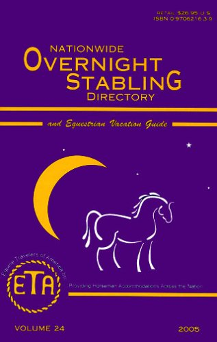 Nationwide Overnight Stabling Directory & Equestrian Vacation Guide