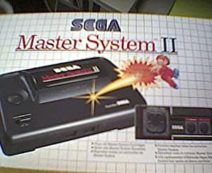 Sega Master System II Console with Alex Kidd in miracle
