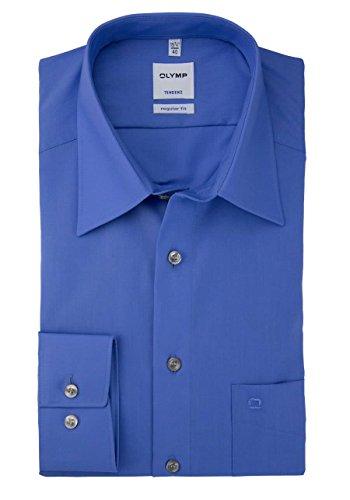 Olymp Tendenz Hemd - blau Blau
