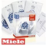 Miele Genuine GN Hyclean Dust Bags (x8) S2111 Autumn Red