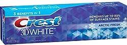 Crest 3D White Arctic Fresh Whitening Toothpaste, 4.8 oz