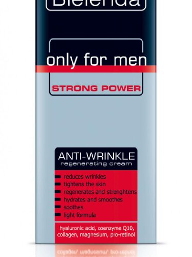 BIELENDA MEN Herren STRONG POWER Q10 Antifalten Creme 50ml