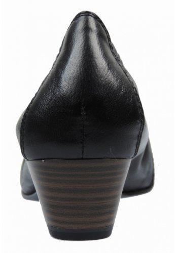 Tamaris  TAMARIS, Escarpins pour femme Noir Schwarz (Black 001) 35 Noir - Noir