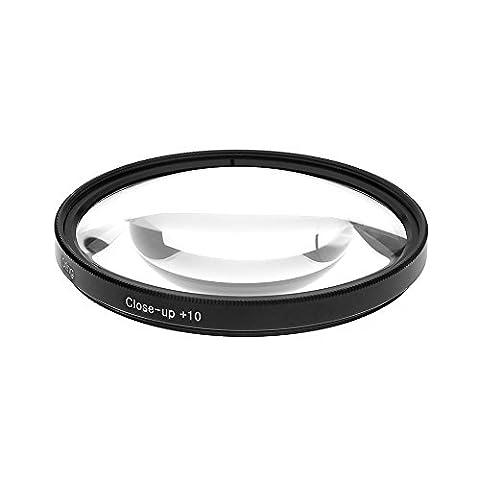 Filtre bonnette macro close up 77mm +10 pour CANON 24-105MM, 17-40MM, 28-300MM, 70-200MM et NIKON 28-300MM, 18-300MM